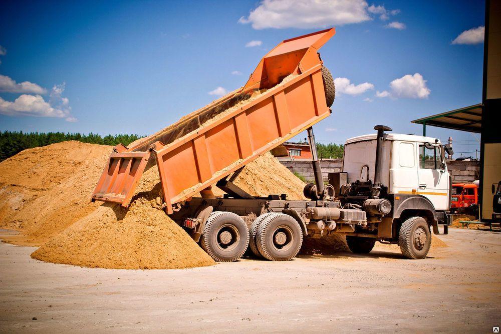 песок карьерный доставка москва